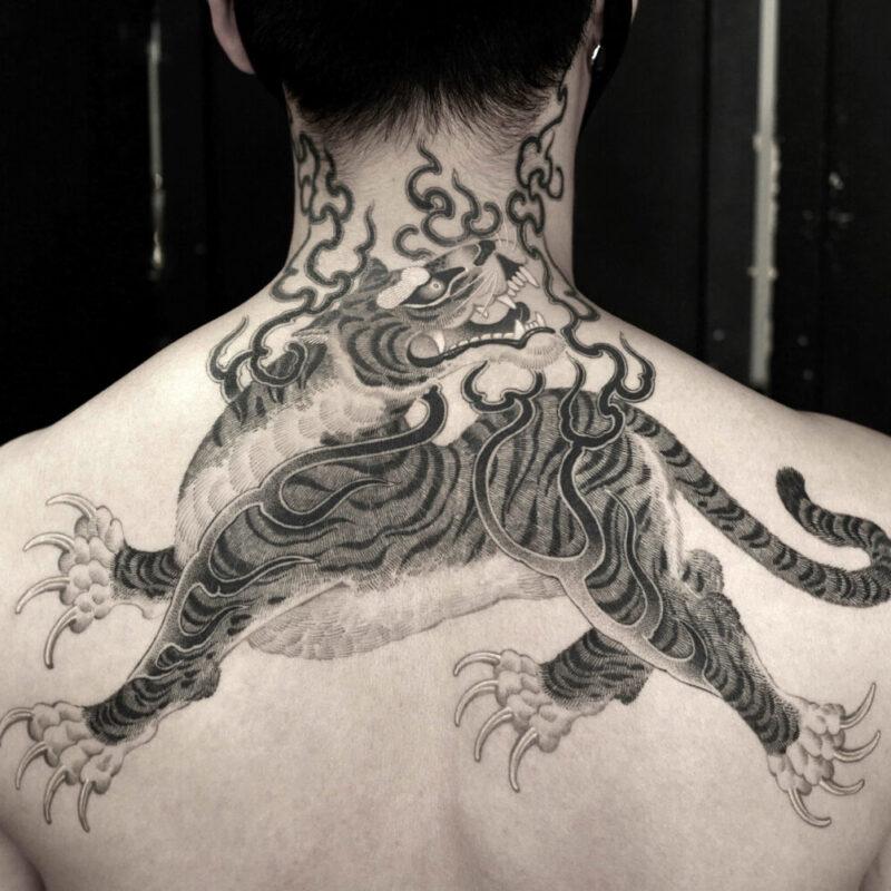 Tattoo by GB Kim, @gb_kim