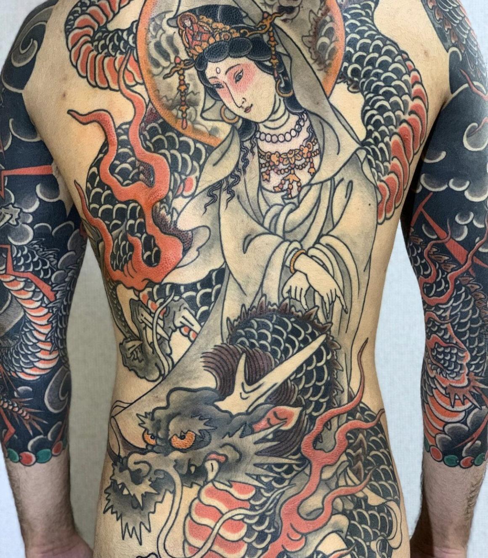 Tattoo by Gasen Jiro, @gasentat2