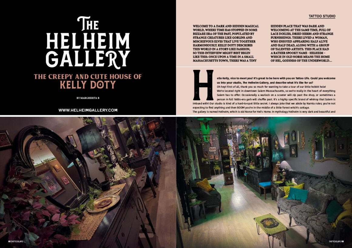 The Helheim Gallery: The creepy cute house of Kelly Doty